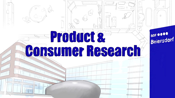 "Imagefilm ""Product & Consumer Research"" der Beiersdorf AG"