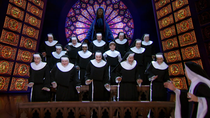 TV-Spot für das Musical SISTER ACT von Stage Entertainment